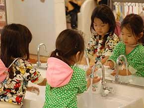 手洗い風景